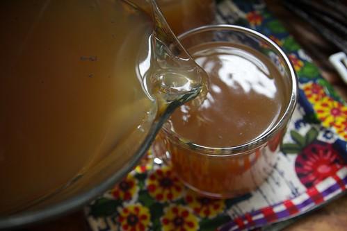 hot vanilla cider