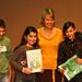 Logo-uitreiking milieuzorgopschool (MOS) in Schaarbeek  10/11/2011