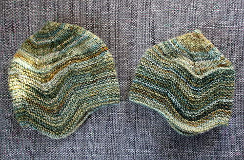 Hats from my handspun