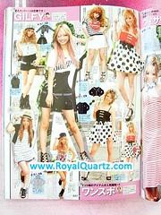 Ranzuki August 2010 - Contents (Royal Quartz) Tags: beauty fashion japan magazine japanese models gal gyaru