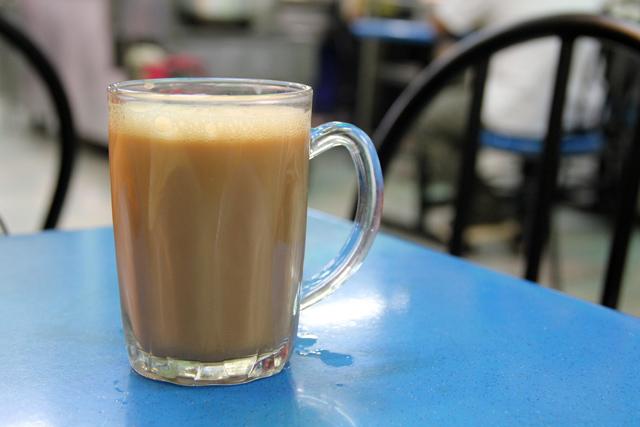 Malaysian Teh Tarik - Milk Tea