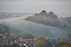 Wearyall Hill, Glastonbury (Phil Broek) Tags: uk misty somerset kingarthur southwestengland isleofavalon