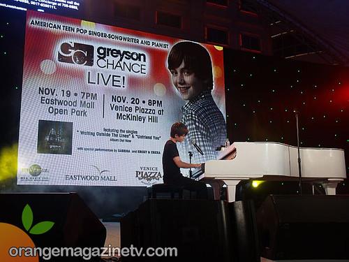 Greyson Chance Live in Manila 8
