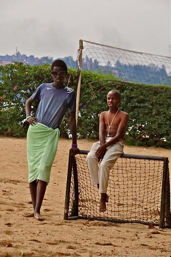 John and Patrick, Lake Kivu