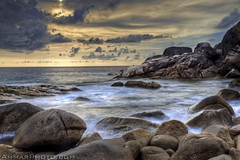 Once in a lifetime (Ammar Alothman) Tags: ocean longexposure seascape beach water canon landscape thailand island rocks kuwait canonef1740mmf4lusm ammar similan kw q8 similanislands similanisland  vwc alothman ammaralothman 3mmar   kuwaitiphotographer ammarphotos ammarq8 ammarphoto ammarphotography kvwc canoneos5dmarkii kuwaitvoluntaryworkcenter  kuwaitvwc ammarq8com ammarphotocom