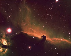 Horsehead Nebula in Orion and Star Creation (edhiker) Tags: losangeles combine ngc2024 ic434 edhiker horseheadnebula best100 alnitak ngc2023 Astrometrydotnet:status=solved 8inf4 Astrometrydotnet:version=14400 st8300c horseheadcombine Astrometrydotnet:id=alpha20111189617931