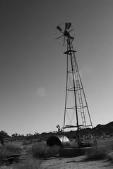 Windmill (J_Jacks1985) Tags: california blackandwhite canon rebel ruins desert joshuatree joshuatreenationalpark canonrebelxs