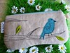spring is here!! (monaw2008) Tags: vintage spring handmade linen makeup jeans pouch zipper denim applique reused monaw monaw2008