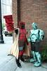 Hellboy and Abe (Nikejerk3) Tags: cardboard abe hellboy dragoncon boxsuit