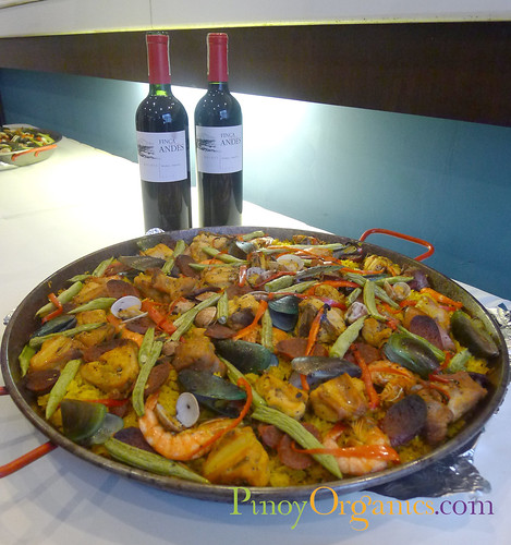 LBV Men & Their Passion-Paella with wine