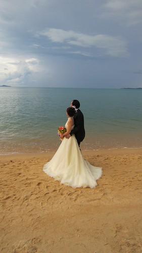 サムイ島 今日のお天気 ウエディングフォト撮影