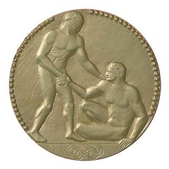 Paris 1924 Gold Medal (International Olympic Committee) Tags: olympics olympicgames paris1924goldmedal franceolympicsolympicgamesmedalhistoryolympismdesign