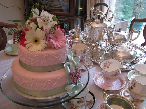 Classic Tea Party Wedding cake