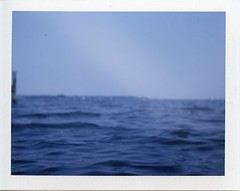 Miles River, St. Michaels, Maryland (Shawn Hoke) Tags: film polaroid maryland instant stmichaels landcamera instantfilm fujifp100c polaroid420landcamera epsonv500 shawnhoke believeinfilm