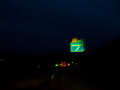 Preparation for Road trip: Budapest to Cologne, Night Driving