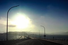 Bay Bridge (Watson Lu) Tags: sf sanfrancisco california road street bridge cars oakland highway empty richmond hwy baybridge bayarea i580