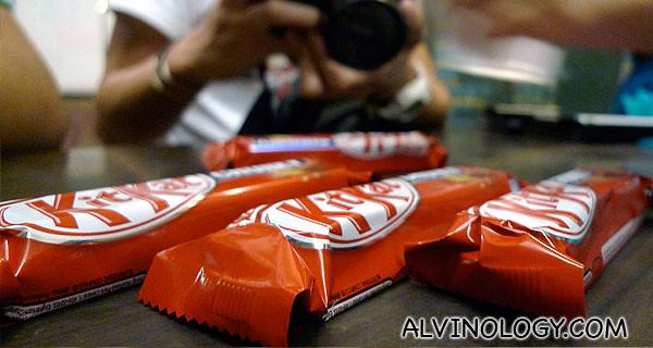 Kit Kat Chunky!