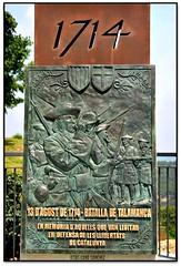 Batalla de Talamanca (Jess Cano Snchez) Tags: espaa monument canon spain memorial war monumento guerra catalonia catalunya catalua eos20d bages batalla talamanca efs1855 espanya elsenyordelsbertins barcelonaprovincia