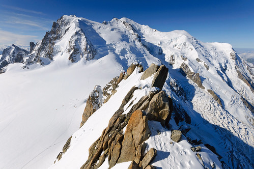 From Chamonix to Courmayer - Aiguille du Midi 25