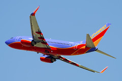 Southwest Airlines Boeing 737-7H4 (N735SA) (ChicagoKoz (ORDSpotter) @Kozphotog) Tags: southwest airplane airport aircraft aviation den jet dia denver boeing airliner southwestairlines jetliner kden b737 planespotting wn swa 737700 7377h4 aircraftspotting n735sa