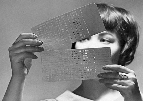 Today it is hard to imagine what first computers looked like. They were very different from modern computers and information was stored on punch cards. One of the popular professions for women in the sixties was a computer operator.