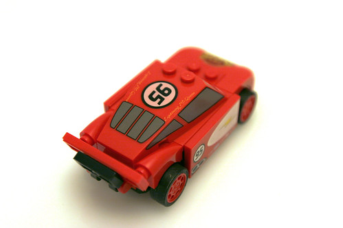 8200 Radiator Springs Lightning McQueen - Top
