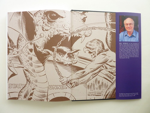 The Art of Joe Kubert (edited by Bill Schelly) - endpapers