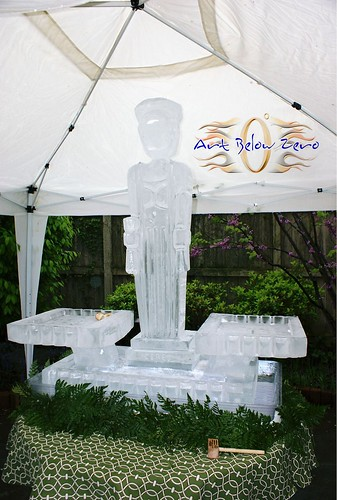 Ceres Oyster Display Ice Sculpture