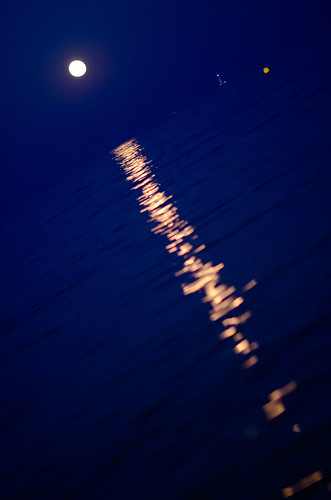 moonlight bokeh