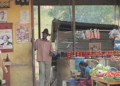 market stall (bindubaba) Tags: africa vegetables uganda kartpostal virgiliocompany flickrtravelaward rememberthatmomentlevel1