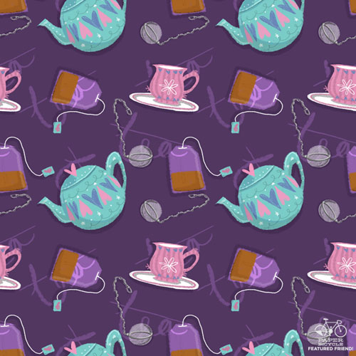 francourt_daily pattern_teapot