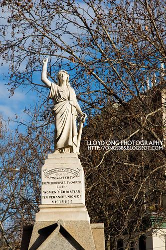 Statue near Queen Victoria Market