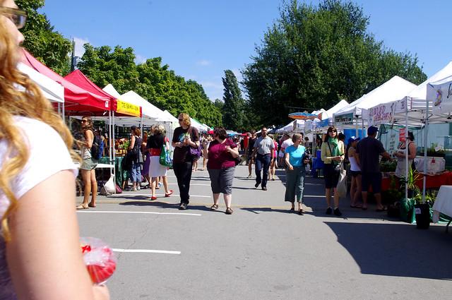 Bari at Trout Lake Farmers Market