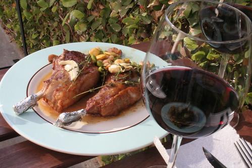 Al Fresco Lamb Dinner