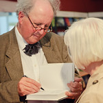 Alexander McCall Smith book signing