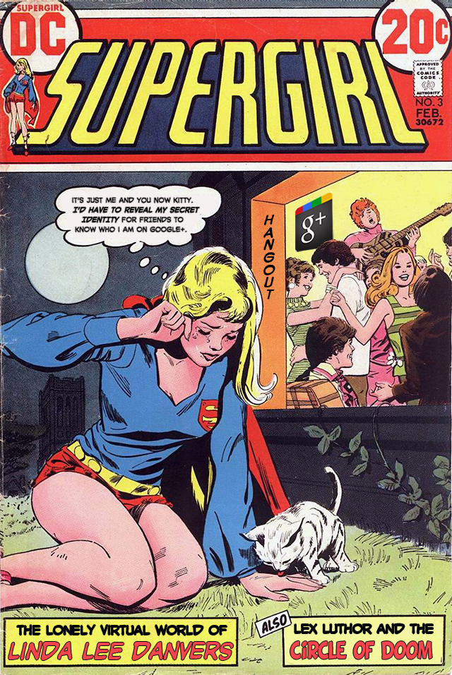 Supergirl's Lonely Virtual World