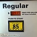 $3.41/gallon. Gas prices on the rise. (Fort Collins, CO)