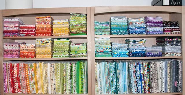 fabric organizing