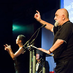 Alexei Sayle on stage
