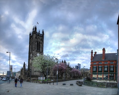 Manchester cathedral (M. ALbeloushi) Tags: uk hdr