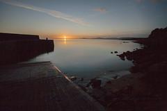 dawn @ Gleninagh (Wendy:) Tags: longexposure ireland dawn pier clare burren hoya bca gleninagh nd400