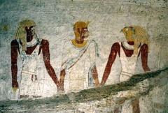 Tomb Painting, El Kurru, Sudan