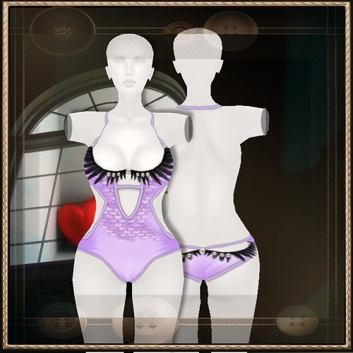 A&A Fashion Swimsuit Violet