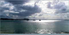 Overcast afternoon at Shoal Bay. (chriseagle) Tags: clouds overcast yachts portstephens shoalbay canong12