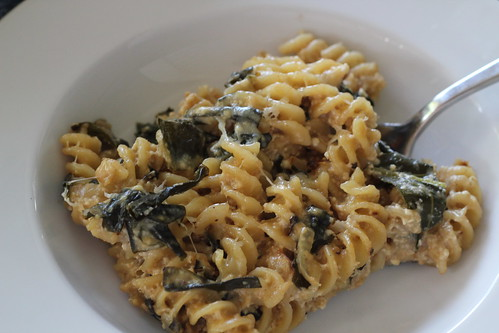 Pasta with Collard Greens