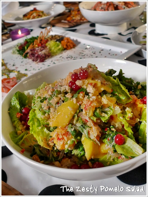 Zesty Pomelo Salad