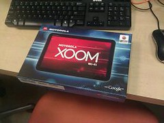 Motorola Xoom -- 1st Prize for Downtown Dash