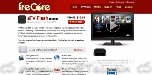 aTV Flash (black) | FireCore