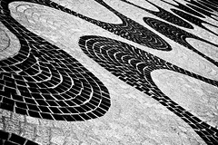 Down is the New Up (Esben Skov) Tags: street bw white up stone denmark pavement down op sten ned danmark aalborg blck havnefront fortov havnefronten