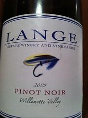 2009 Lange Pinot Noir